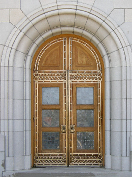 Yankton Benedictine Chapel Doors