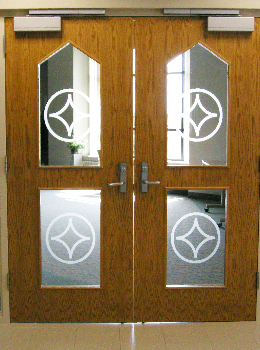Yankton Benedictines Chapter Door