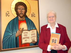 S. Ann recently completed the revised, updated and reorganized edition of Benedictine Men and Women of Courage: Roots and History, done in collaboration with Dr. Neville Kelly. Photo courtesy of the Yankton Press and Dakotan