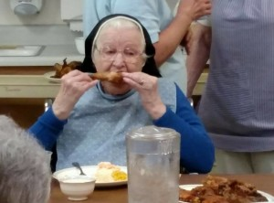 Sister Chicken Virginia 101 years 81 vows Yankton Benedictines Sacred Heart Monastery Sisters