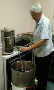 Grape Juice 2 Homemade Sister Vinter Yankton Benedictines Sacred Heart Monastery Sisters
