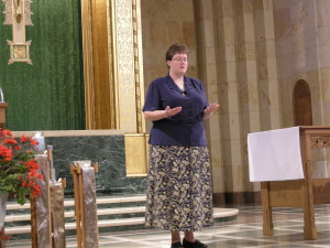 First Temporary Profession Suscipe Blessing Yankton Benedictines Sacred Heart Monastery Sisters