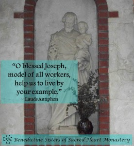 Saint Joseph the Worker Sioux Falls Diocese Yankton Benedictines Sacred Heart Monastery Sisters