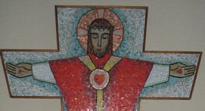 Sacred Heart of Jesus Chapter Room Theology Institute Icon