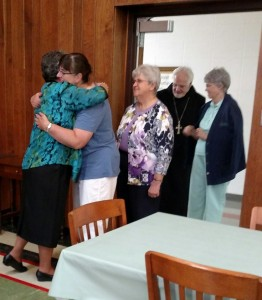 Novice Prayer Reception Yankton Benedictines Sacred Heart Monastery Sisters