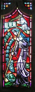 Benedictine Sisters' Window | About Bishop Marty Chapel